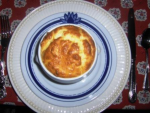 Souffled French Onion Soup