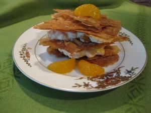 Mandarin Orange Napoleons