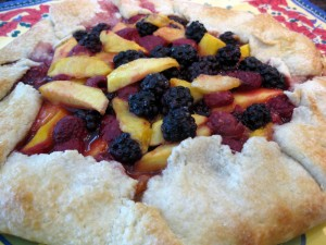 My First Summer Fruit Galette