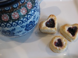 Ruby Tea Biscuits