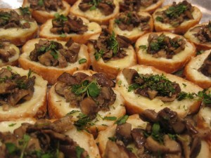 Balsamic Mushroom Panini