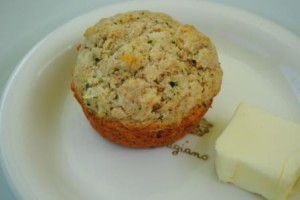 Thyme, Onion and Chive Muffins
