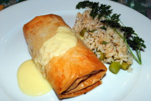 Kotopits (Chicken in Phyllo)