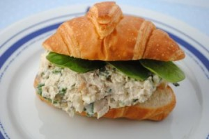 Smoked Chicken Salad Sandwiches
