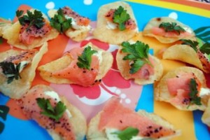 Smoked Salmon Chip
