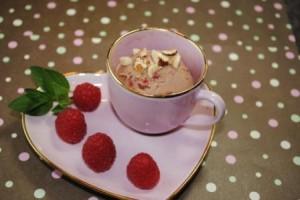 Raspberry Nutella Gelato