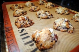 Almond Coconut Chocolate Scones