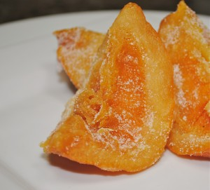 Candied Orange Quarters