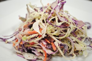 Rainbow Slaw with Roasted Pumpkin Seeds