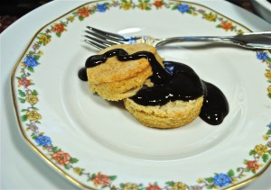 Chocolate Gravy with Homemade Biscuits