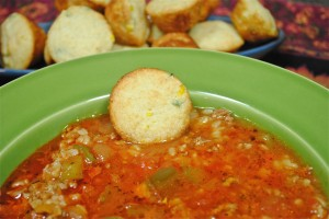 Stuffed Bell Pepper Soup