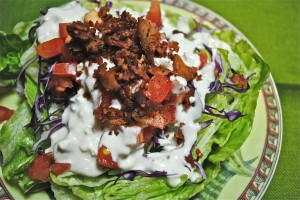 Wedge Salad On A Different Angle