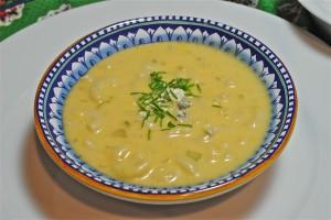 Mac n' Cheese Soup