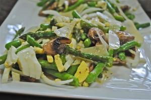 Asparagus and Mushroom Salad