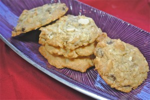 Chocolate Coconut Macadamia Cookie