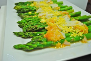 Asparagus with Orange Sauce