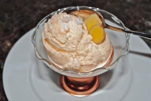 Ginger Cantaloupe Ice Cream