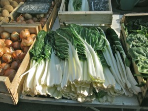 Swiss Chard and the French Markets
