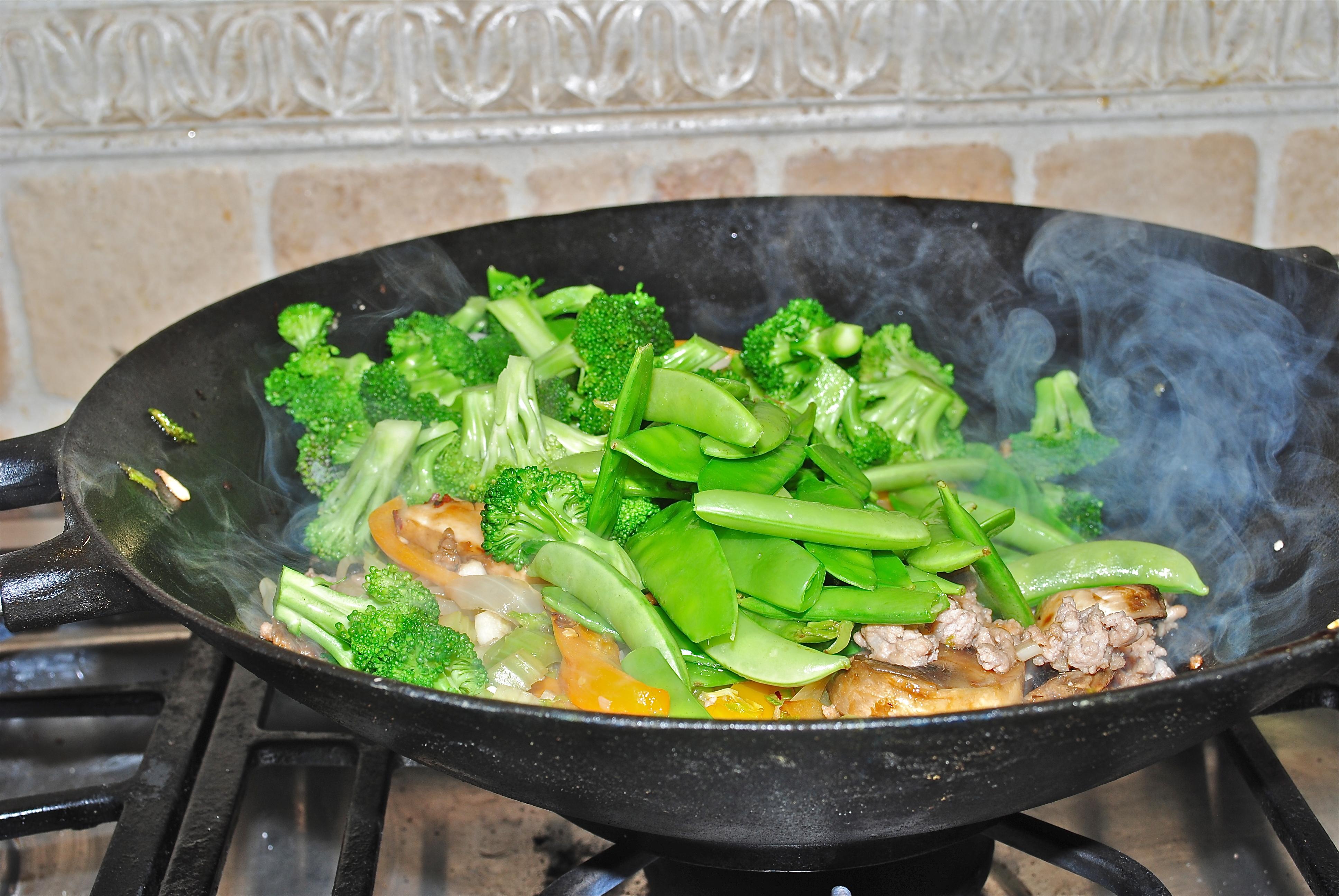 Лапша с овощами на воке рецепт пошагово