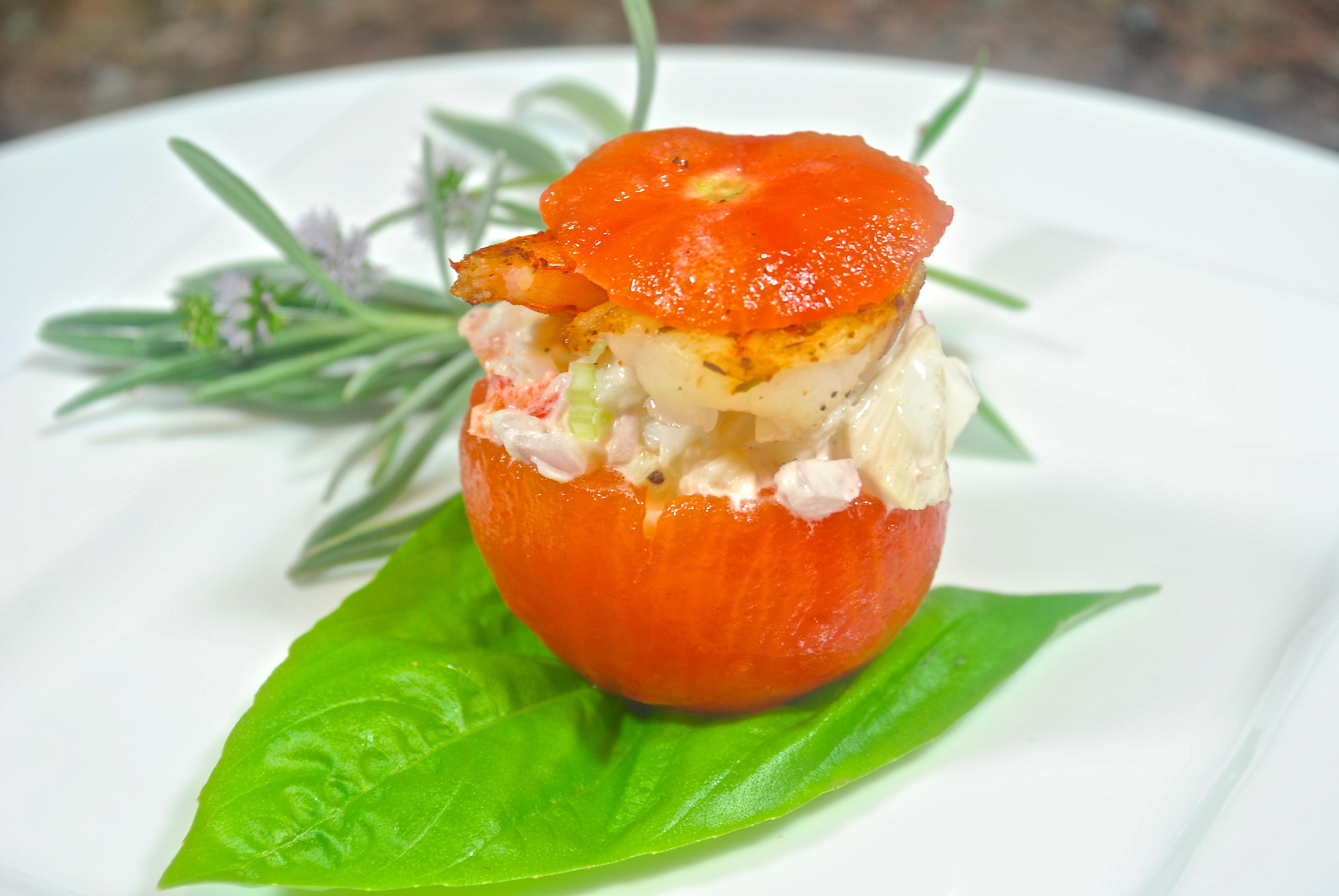 Crab Cakes On Salad