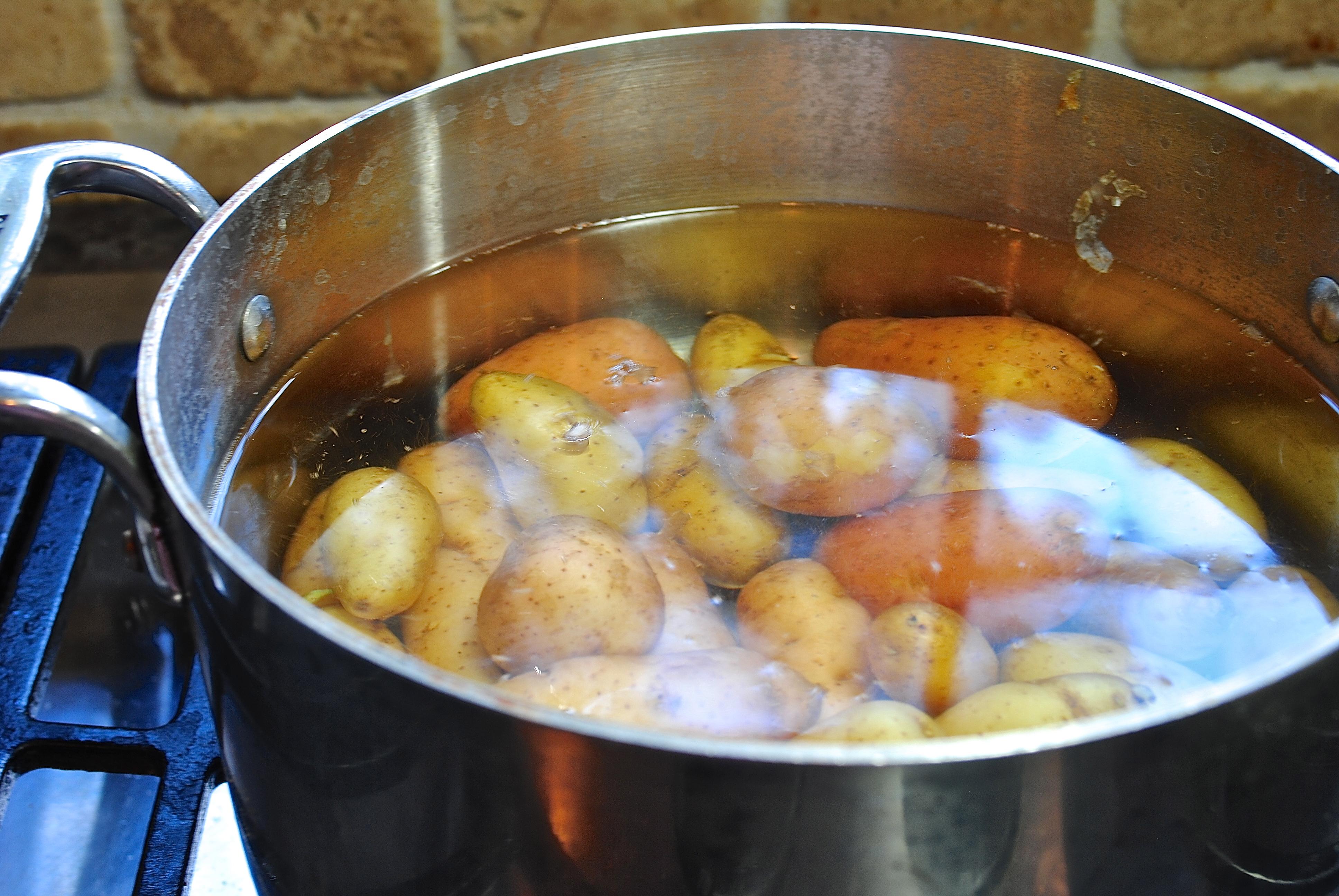 Картофельные галушки из сырого картофеля рецепт с пошаговым фото