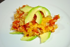 Mexican Rice with Cheese