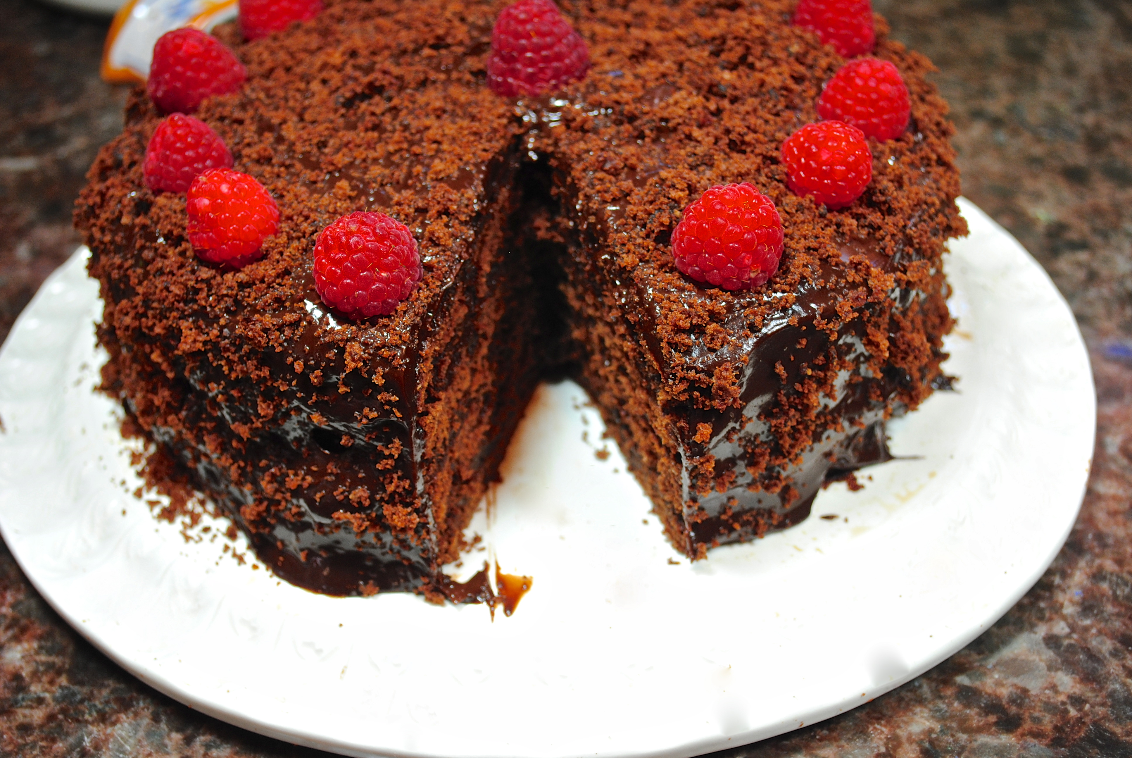 Gale Gand Chocolate Blackout Cake