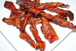 Rosemary Brown Sugar Bacon Twist