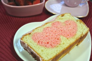Be My Valentine Pound Cake
