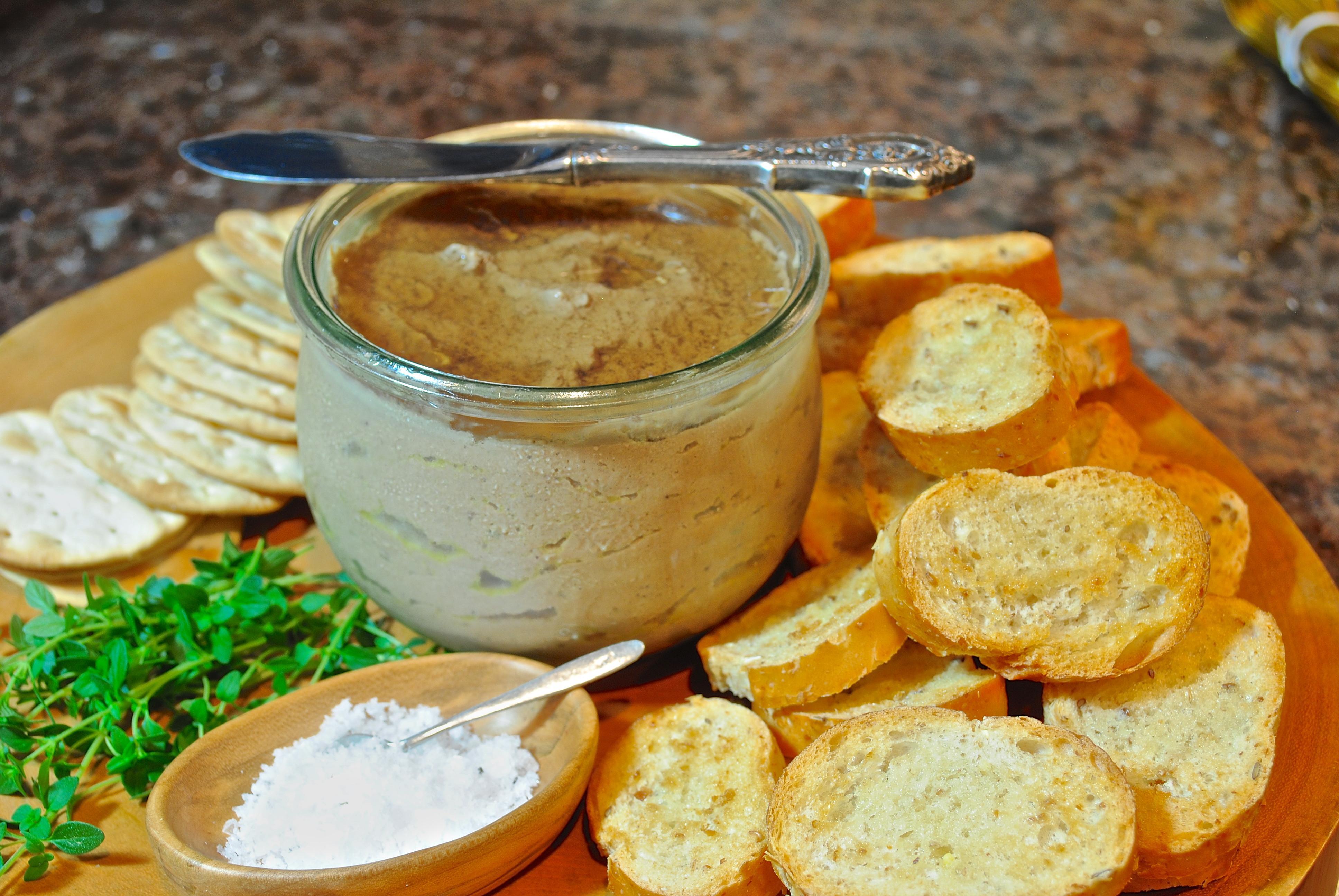Рецепт домашнего паштета из утиной печени в домашних условиях