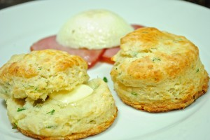 Chive, Dill and Cheddar Biscuits