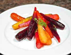 Honey Lime Carrots and Radishes with Cilantro