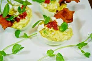 Cobb Deviled Eggs