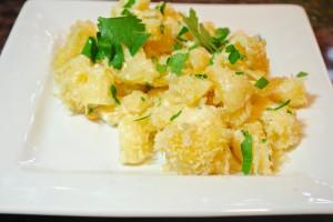 White Cheddar Mac and Cheese w/ Truffle Oil