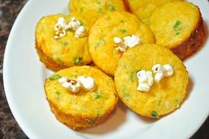 Jalapeno Popcorn Cornmeal Muffins