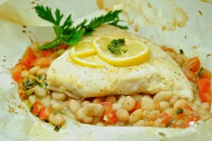 Tuscan Halibut