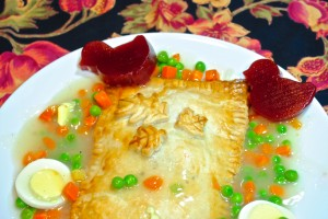 Chicken Pot Pie Pop Tart