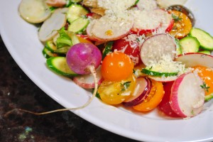 Easter Egg Radish Salad