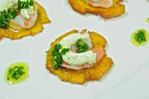 Jalapeño Shrimp Tostones