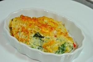 Creamy Kale au Gratin