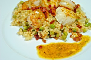 Israeli Couscous with Tarragon