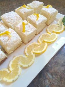 "Lemon ""Goat"" Cream Cheese Coffee Cake"