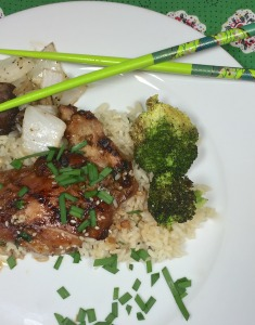 Bourbon Teriyaki Chicken