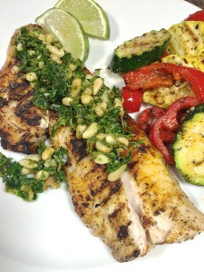 Red Snapper with Citrus Gremolata