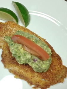 Fiesta Catfish with Guacamole