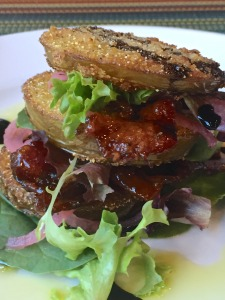 BLT Stacked Tomatoes