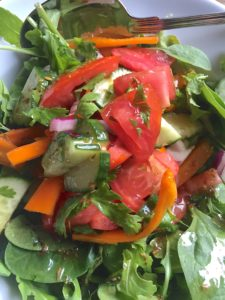 Tomato and Arugula Salad