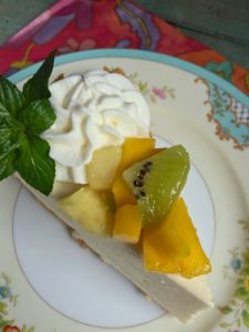 Tropical Rum Cream Pie