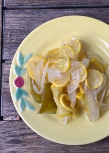 Pickled Yellow Squash