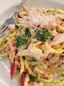 Creamy Artichoke Pasta with Chicken